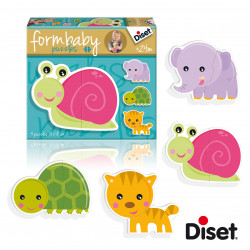 Puzzle baby caracol