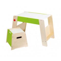 Mesa y taburete infantil
