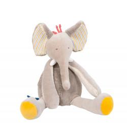 Peluche elefante Papoum....