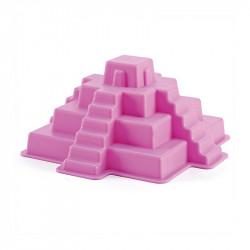 Molde pirámide maya morada...
