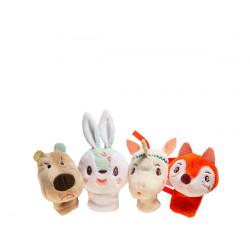 Marionetas de dedo Bosque