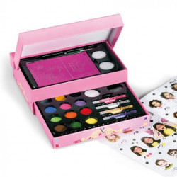 Cofre de maquillaje con cajón