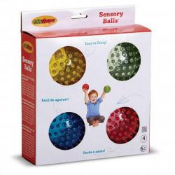 Set 4 pelotas sensoriales