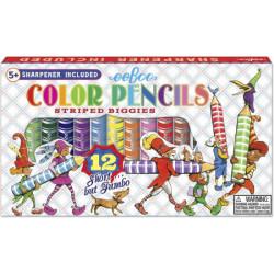 12 lápices de color Biggies