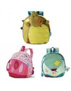 Mochilas, bolsos, porta bebés, muselinas y paraguas